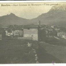 Postcards - (PS-41546)POSTAL FOTOGRAFICA DE SAN LLORENS DE MORUNYS-VISTA GENERAL - 45624229
