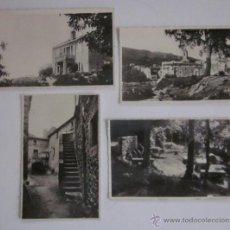 Postales: LOTE DE 4 POSTALES MASSANET DE CABRENYS . Lote 45696474