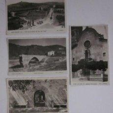 Postales: 4 POSTALES DE SANT CELONI - ED. J. BILBENY. Lote 45704046