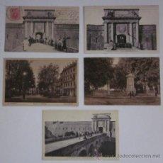 Postales: LOTE DE 5 POSTALES DE FIGUERES. Lote 45704426