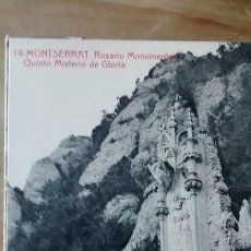 Postales: POSTALES RELIGIOSAS / MONASTIR DE MONTSERRAT / COLECCIÓN DE 14 POSTALES. Lote 45729655