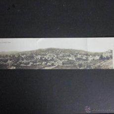 Postales: BARCELONA - VISTA PANORAMICA DEL TIBIDABO - POSTAL TRIPLE - FOTOGRAFICA . Lote 45742331