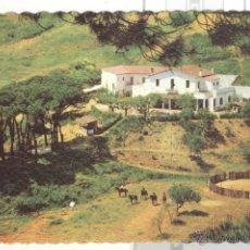 Postales: POSTAL HOTEL EL FORN CALDETAS SANT VICENTE DE MONTALT, VICENÇ 1964 VALMAN. SIN CIRCULAR. GRABADA. Lote 45801247