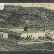 Postais: SAN FELIU DE GUIXOLS - A.T.V. 3016 - MATADERO PUBLICO - (25900). Lote 45836710