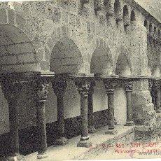Postales: PS5066 SANT CUGAT DEL VALLÉS 'MONASTERIO, CLAUSTROS'. A.T.V. CIRCULADA. Lote 45942501