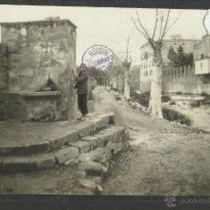 Postales: LA JONQUERA - LA JUNQUERA - FUENTE - FOTOGRAFICA - SELLO EN SECO ROISIN - (26170). Lote 45950182