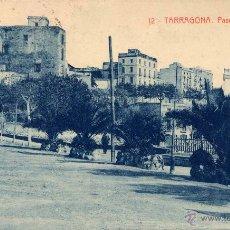 Postales: TARRAGONA.- PASEO PI Y MARGALL. Lote 45959379