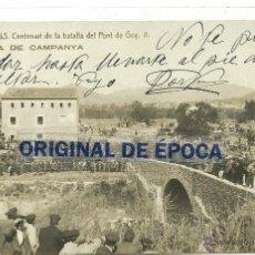 Postales: (PS-42237)POSTAL FOTOGRAFICA DE VALLS-CENTENARI DE LA BATALLA DEL PONT DE GOY.MISSA DE CAMPANYA. Lote 45991519
