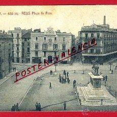 Postales: POSTAL REUS, TARRAGONA, PLAZA DE PRIM, ATV-438 BIS, P96426. Lote 46022039