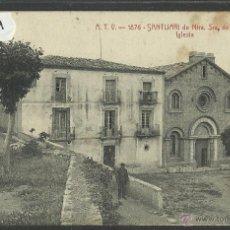 Postales: TERRADES - ATV 1876- SANTUARI DE NOSTRA SENYORA DE LA SALUT - IGLESIA (26334). Lote 46026010
