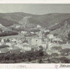 Postales: PS5181 SAN ANDRÉS DE LLAVANERAS 'VISTA GENERAL'. POSTAL FOTOGRÁFICA. CIRCULADA AÑOS 50. Lote 46071479