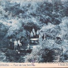 Postales: COLLELL ROISIN 10 FONT DE LES DELICIES. Lote 46096211