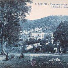 Postales: COLLELL ROISIN 3 VISTA PANORÀMICA DE LES DELICIES. Lote 46096259