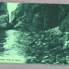 Postales: BUENA POSTAL DE BLANES - PLATJA DE L, AGULLA - DE J. MUMBRU Nº 7 - 1924. Lote 46110847