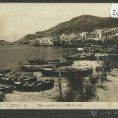 Postales: PORT DE LA SELVA - 12 . VISTA PARCIAL CON LA RIBA Y LLOIA - FOTOGRAFICA LLENSA - (26642). Lote 46172700