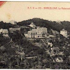 Postales: BONITA POSTAL - BARCELONA - LA RABASSADA - VISTA GENERAL . Lote 46178542