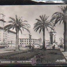Postales: TARJETA POSTAL DE BARCELONA - PLAZA DE ESPAÑA. 515. ZERKOWITZ. Lote 46246050