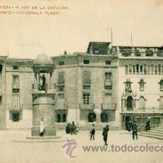 Cartoline: VICH - VIC SERIE 3ª - J. P. PLAZA DE LA CATEDRAL. Lote 46267789