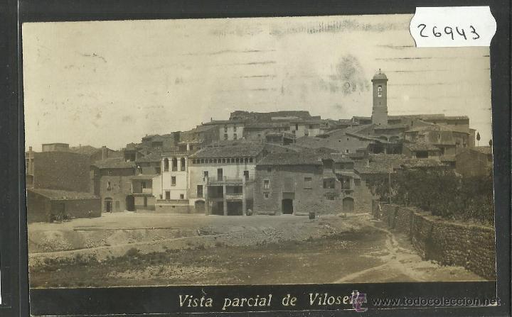 VILOSELL - VISTA PARCIAL - FOTOGRAFICA - (26943) (Postales - España - Cataluña Moderna (desde 1940))