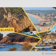 Postales: BLANES (COSTA BRAVA). Lote 46327317