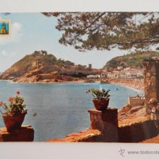 Postales: TOSSA DE MAR (COSTA BRAVA): VISTA PARCIAL. Lote 46368459
