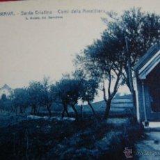 Postales: POSTAL SANTA CRISTINA, COSTA BRAVA, GIRONA. CAMI DELS AMETLLERS. ROISIN 64. Lote 46372105
