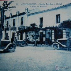 Postales: POSTAL SANTA CRISTINA, COSTA BRAVA, GIRONA. HOTEL. ROISIN 67. Lote 46372168