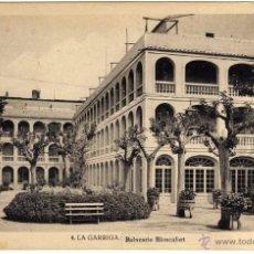 Postales: PRECIOSA POSTAL - LA GARRIGA (BARCELONA) - BALNEARIO BLANCAFORT. Lote 46375752