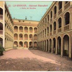 Postales: BONITA POSTAL - LA GARRIGA (BARCELONA) - BALNEARI BLANCAFORT. Lote 46375767
