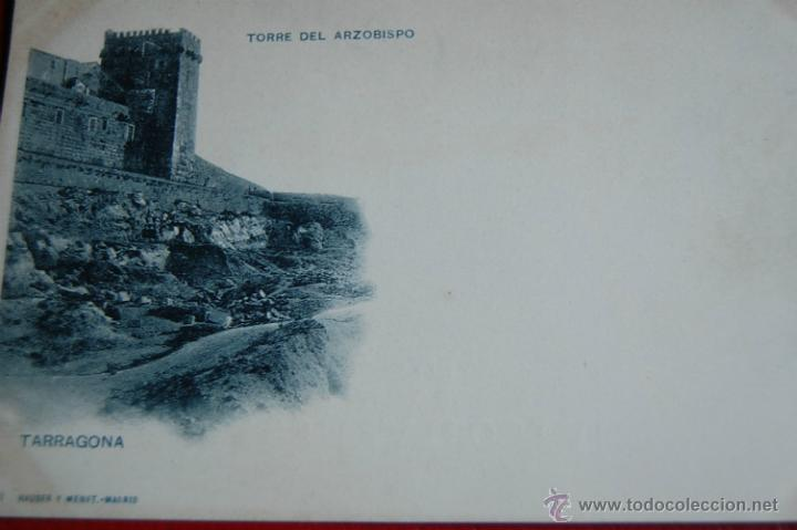 POSTAL. TARRAGONA. TORRE DEL ARZOBISPO. NUM 241. HAUSER Y MENET.MADRID (Postales - España - Cataluña Antigua (hasta 1939))