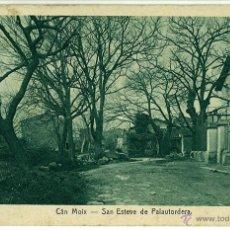 Postales: POSTAL SAN ESTEVE DE PALAUTORDERA CAN MOIX CIRCULADA 1923. Lote 46465962