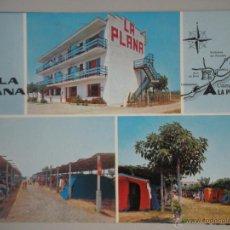 Cartes Postales: - MAGNIFICA POSTAL DE - CAMPING LA PLANA -. CREIXELL - TARRAGONA -. Lote 46498129