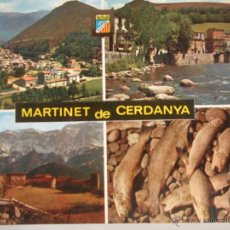 Postales: - MAGNIFICA POSTAL DE - MARTINET DE CERDANYA - LLEIDA - SIN CIRCULAR -. Lote 46545622