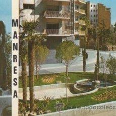 Postales: MANRESA - MONUMENTO ESCULTURA LA BEN PLANTADA DE JOSEP CLARA - Nº 36 - ED. VERT - AÑOS 70 - ESCRITA. Lote 46616127