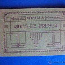 Postales: (PS-43199)BLOCK CON 16 POSTALES DE RIBES DE FRESER. Lote 46737464