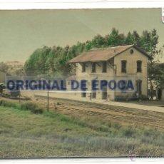 Postales: (PS-43208)POSTAL DE LA ALDEA(TARRAGONA)-ESTACION DE FERROCARRIL DE AMPOSTA. Lote 46758919