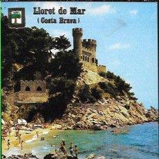 Postales: POSTAL * LLORET DE MAR * LA CALETA I CASTELL. Lote 47003696