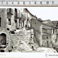 Postales: POSTAL MURA FONT DEL CARRER NOU-Nº 14-BARCELONA 1955.. Lote 47128048