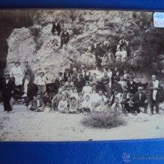 Postales: (PS-43496)POSTAL FOTOGRAFICA DE SAN LLORENS DE MORUNYS-ALDEANOS.MANUSCRITA FOTOGRAFO JOAN PINTO. Lote 47266427