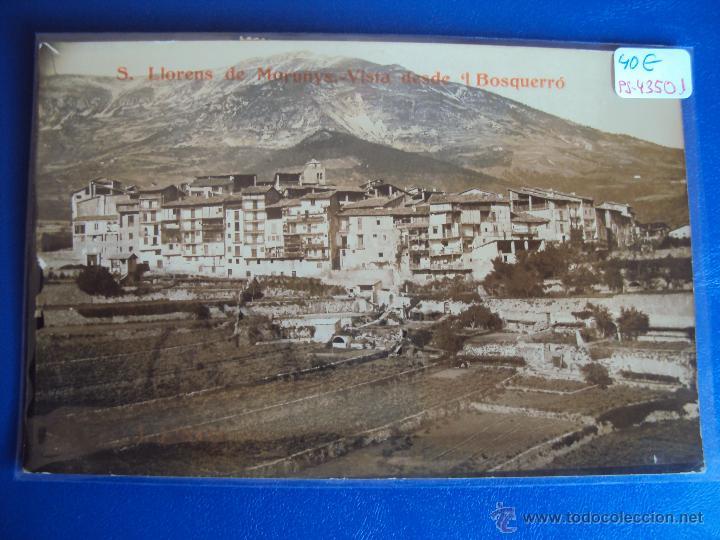 (PS-43501)POSTAL FOTOGRAFICA DE SAN LLORENS DE MORUNYS-VISTA DESDE.. MANUSCRITA FOTOGRAFO JOAN PINTO (Postales - España - Cataluña Antigua (hasta 1939))