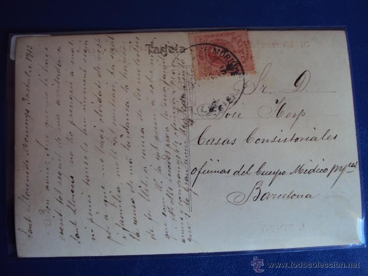 Postales: (PS-43501)POSTAL FOTOGRAFICA DE SAN LLORENS DE MORUNYS-VISTA DESDE.. MANUSCRITA FOTOGRAFO JOAN PINTO - Foto 2 - 47266597