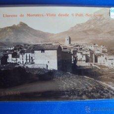 Postales - (PS-43503)POSTAL FOTOGRAFICA DE SAN LLORENS DE MORUNYS-VISTA DESDE...MANUSCRITA FOTOGRAFO JOAN PINTO - 47266662