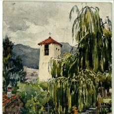Postales: POSTAL CATALUÑA ARTISTICA MONTSENY IGLESIA. Lote 47281110