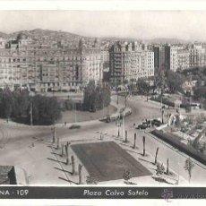 Postales: PLAZA CALVO SOTELO. BARCELONA 109. CIRCULADA. TÁNGER. 18 DE SEPTIEMBRE DE 1948.. Lote 47287772