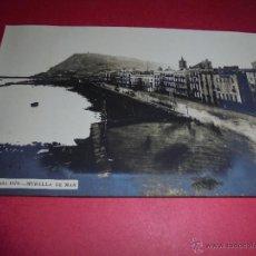 Postales: BARCELONA - ANTIGUA POSTAL FOTOGRAFICA BARCELONA AÑO 1870 - MURALLA DE MAR 14X9 CM. . Lote 47320591