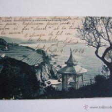 Postales: POSTAL ANTIGUA BLANES. COMENÇAMENT DE LA COSTA BRAVA FINS TOSSA. FOT. PONS. ED. ARTAU. MUMBRU. Lote 47326112
