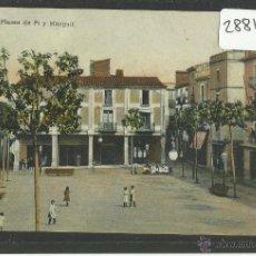 Postales: VENDRELL - PLASSA DE PI Y MARGALL - ED· RAMON GERMANS Y NEBOT - (28817). Lote 47348473