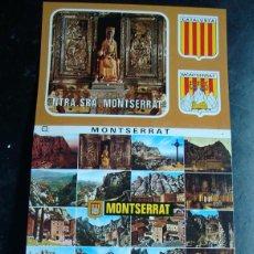 Postales: POSTAL, TIRA-ALBUM-LIBRILLO ACORDEON, MONASTERIO MONTSERRAT, BARCELONA 10 FOTOS. Lote 47521212