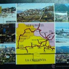 Postales: POSTAL, TIRA-ALBUM-LIBRILLO ACORDEON, LA CERDANYA ( CERDAÑA ), ENTRE LLEIDA I GIRONA - 13 FOTOS. Lote 47522333
