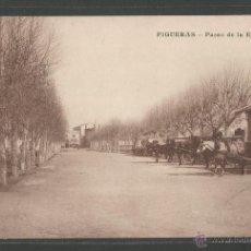 Postales: FIGUERES - PASEO DE LA ESTACION - P5602. Lote 47724444